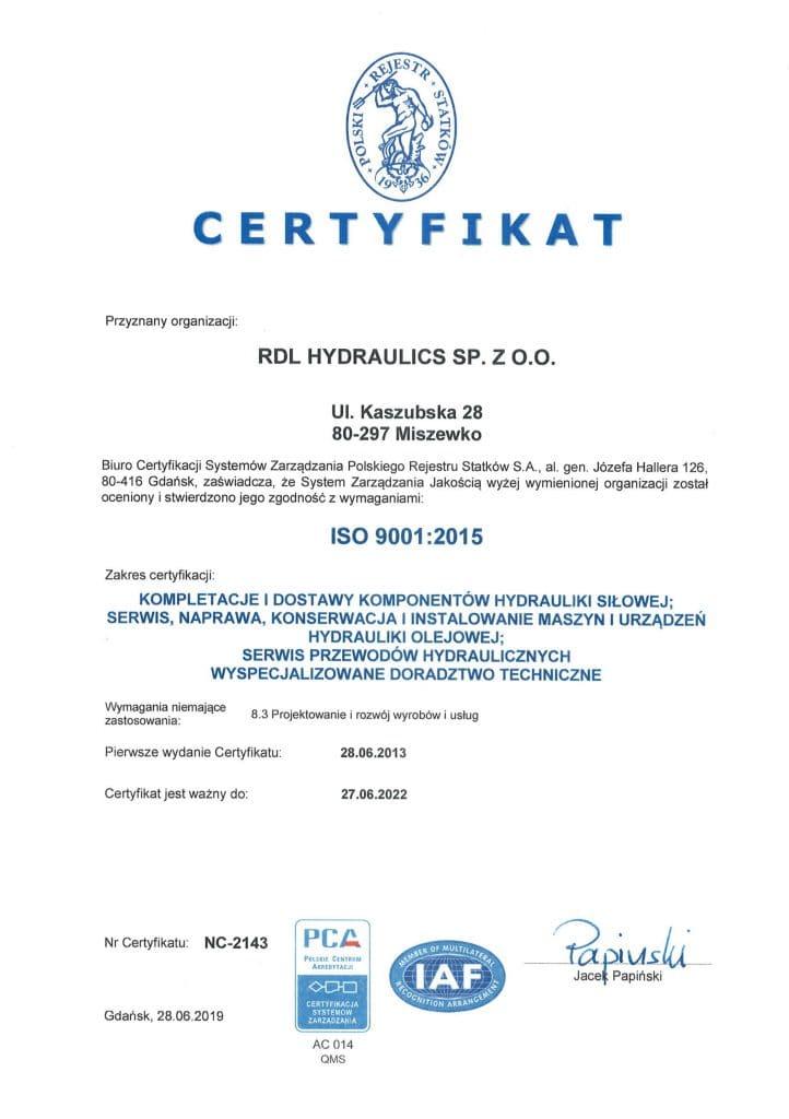 cert pl 2019 722x1024 - Certyfikaty i wyróżnienia