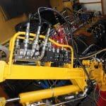 hydrauliczny naped ramienia antropomorficznego 150x150 - Stanowiska do laboratorium napędów platform bezzałogowych