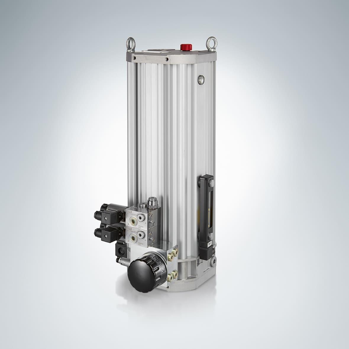 kompaktowy zasilacz hydrauliczny cpu - Compact CPU hydraulic power supply