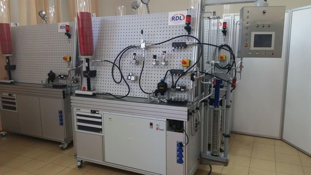 RDL hydraulics-stanowiska-testowe