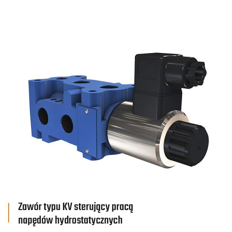 rdl poclain zawor typu kv sterujacy praca napedow hydrostatycznych 740x740px - Poclain Hydraulics